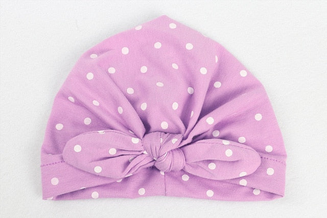 cute rabbit ears Indian Hat Bandanas baby girls kids knot turban headband hair head bands wrap accessories for children headwrap