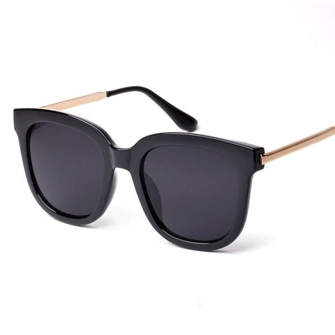Oversized Square Sunglasses Women Men Luxury Brand Big Black Sun Glasses Mirror Shades lunette femme Oculos 1060