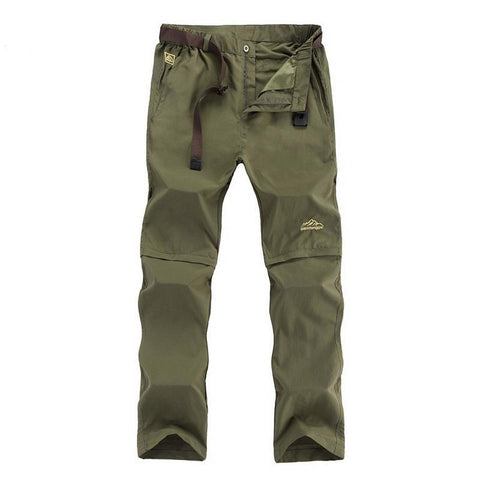 Plus Size L-6XL Removable Men's Summer Cargo Pants Men Breathable Quick Dry Trousers Male Khaki Casual pants,AM209