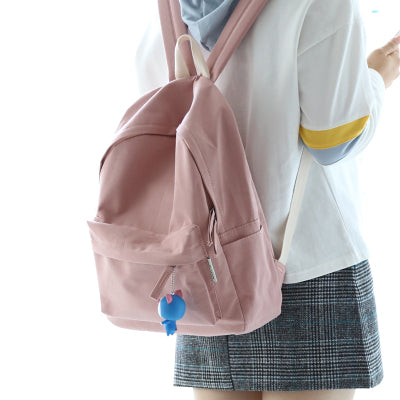 simple fresh design girls backpack teenager school backpack casual bag