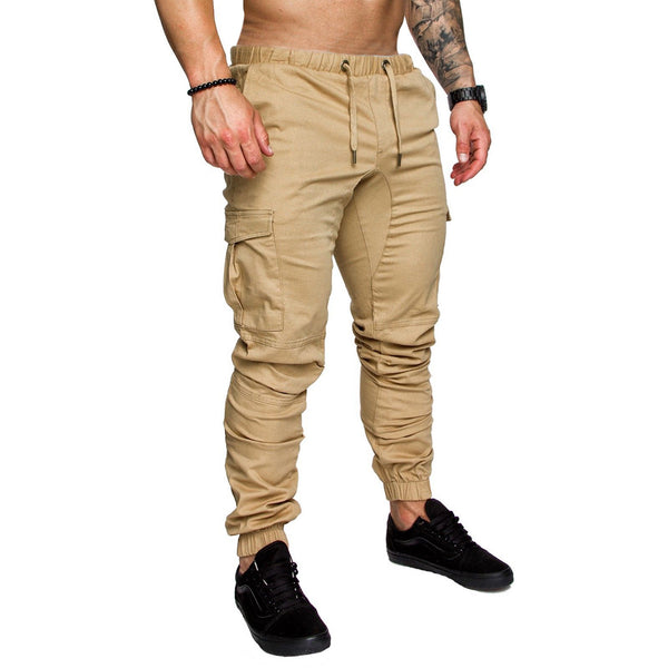 Fashion Herren Pants Men Joggers Plus Size Casual Cotton Fitness Workout Hip Pop Sweatpants Casual Stretch Military Trousers
