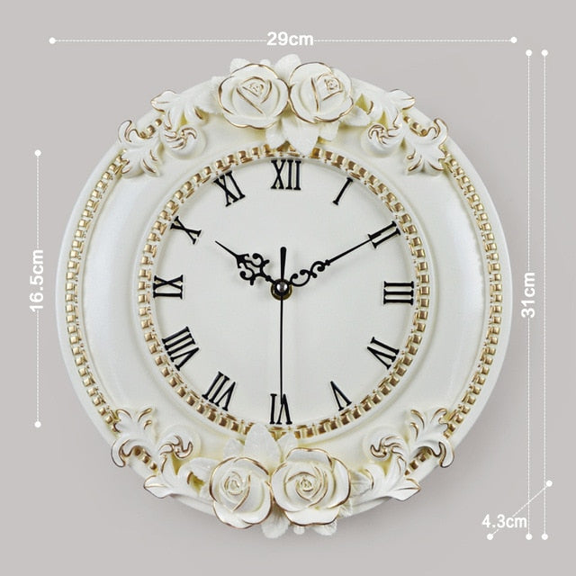 of a creative European decorative wall clock quiet room Hotel Relais Dell'Orologio restaurant watch saat free shipping