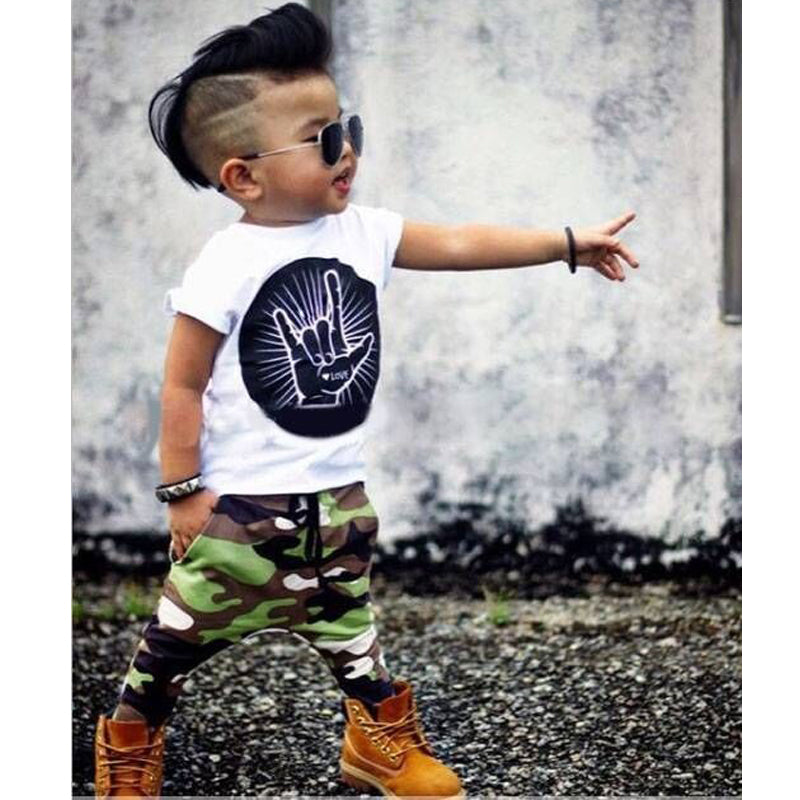3c1ddb527 Infant Clothing Set Summer Baby Kids Fashion Newborn Baby Boy ...