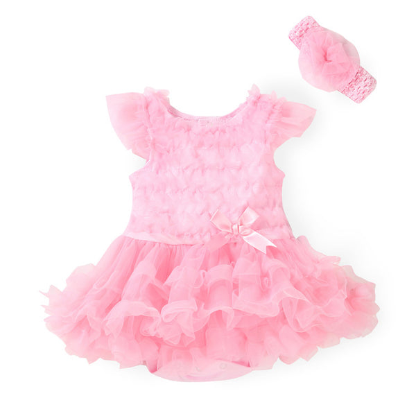 free shipping New Fashion Baby Clothing Set Baby Girl Sets Romper+Headband Newborn Bebe Spring Summer Baby Girl Clothes