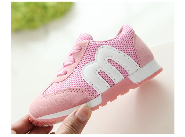 2018 New autumn children canvas shoes girls and boys sport shoes antislip soft bottom kids shoes comfortable breathable sneakers