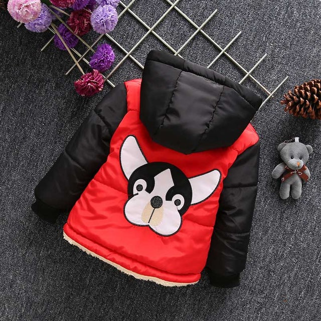 Infant Girls Coats Autumn Winter Baby Boys Girls Jackets For Boys Jackets Panda Kids Warm Outerwear Coat Children Clothes