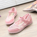 female children summer new lace embroidery shoes Princess Korean fashion wholesale children sandals
