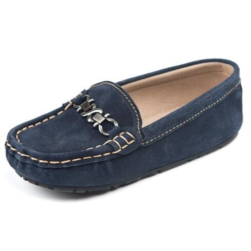 fe268a1566b3a New Spring Flats Children Casual Shoes Boys Girls Leather Shoes Student  Slip-On Loafers Kids Genuine Leather Tassel Shoes 04