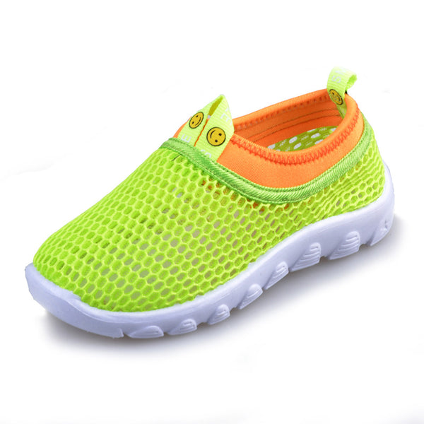 Child shoes Spring/summer kids breathable sneaker shoes cutout single shoes baby girls and boys Casual Mesh sport shoes