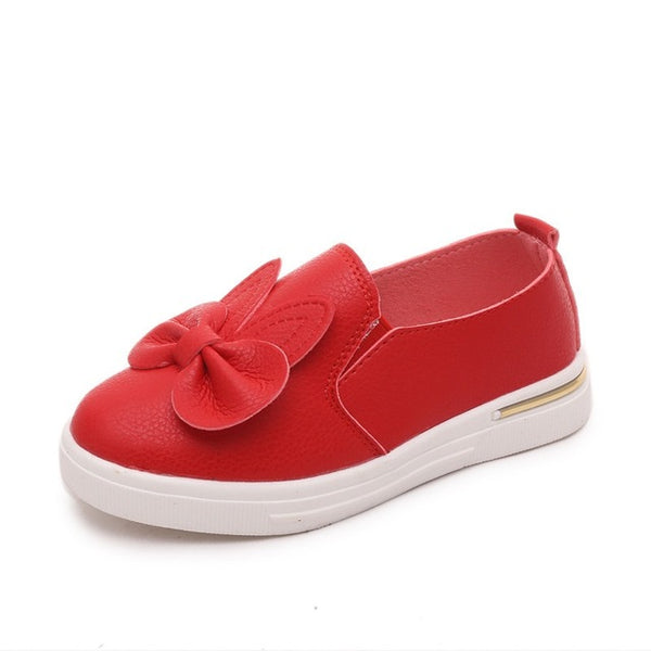 Spring Children Sneakers Girls Cute Rabbit Princess Shoes Sneakers Kids Skate Shoes Flat Children Outdoor Sport Shoes
