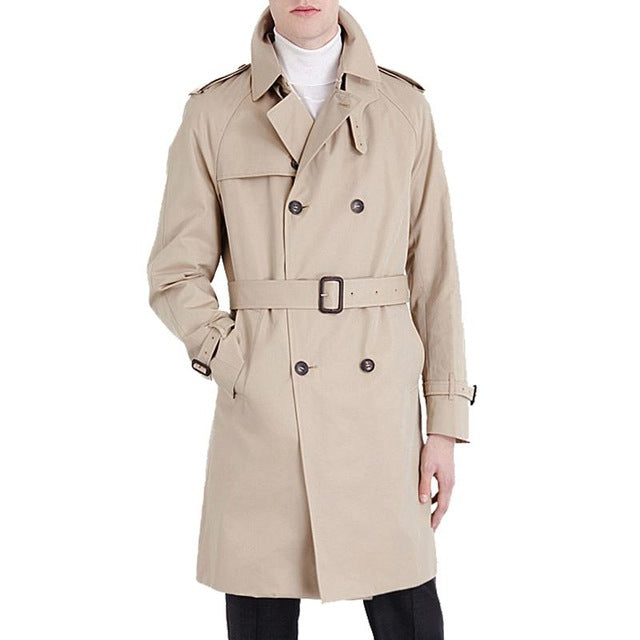 New British Style Trench Coat For men men's Coats Spring And Spring Do