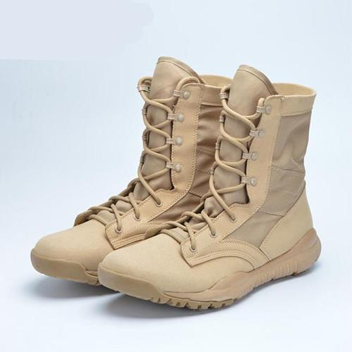 fa72a21339b Ultralight Men Army Boots Military Shoes Combat Tactical Ankle Boots For  Men Desert/Jungle Boots Outdoor Shoes Size 35-46