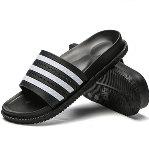 New Summer Bathroom Slippers Women Men Unisex Non-slip Indoor Home Slipper Outdoor Flip Flops Superstar Slides HS122