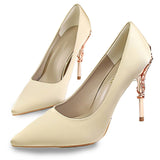 Sexy High Heels Shoes Woman Fashion Women Pumps Wedding Shoes Red Bling Gold Shoes Famale Party Women Heel Shoes