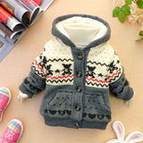 Winter Hoodies Coat Cotton Hooded Minion Jackets Autumn Children Warm Outerwear Kids Clothes Baby Clothing winter coat kids