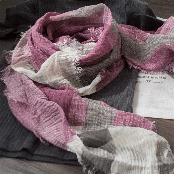 British Style Plaid Men Scarf Winter Fashion Classical for Men and Woman Imitation Cashmere Scarves Tassel