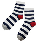 1Pair Male Sock Mens Long Socks with Print Colorful Spring Summer Warm Funny Sock Men Striped Art Socks