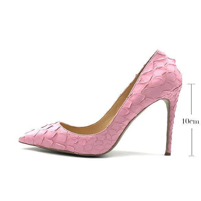 1745144a0 ... wedding shoes bride very sexy womens black high heel shoes pointed toe  pink red party 12cm ...