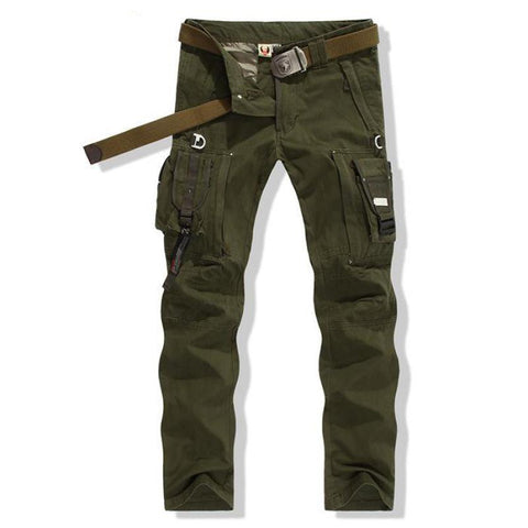 High Qualityfield Survival Army Fans Mens Trousers Overalls Pants Tactical Trousers Special Army Military Tactical Pants No Belt