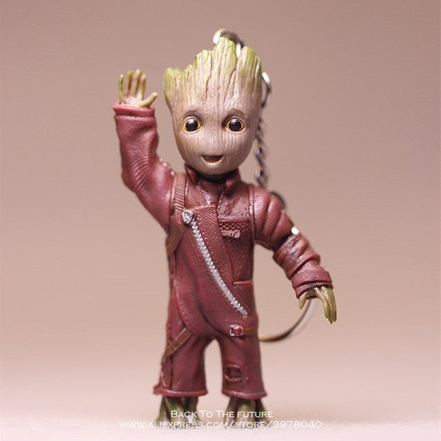 Disney Guardians Of The Galaxy 2 Tree Man Grout Sitting Collectible Anime Toy PVC Cartoon Mini Action Figure Doll Toys model