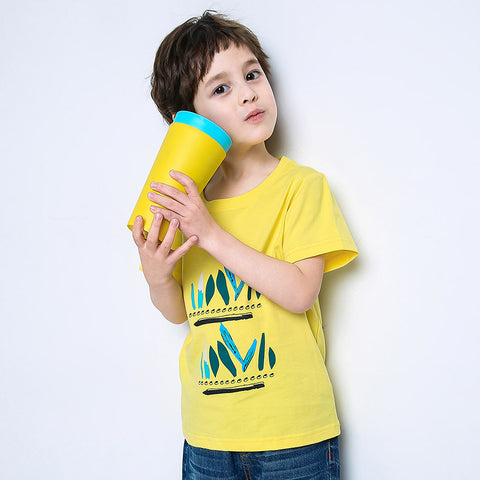 kids new summer short sleeve t shirts boys brand clothing printed 100% cotton t shirt for boys quality kids t shirt tees