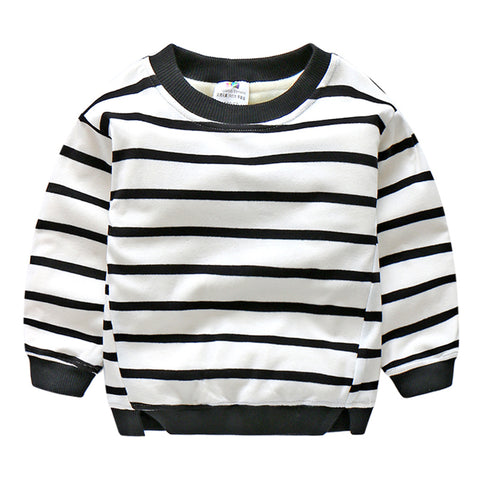 New Autumn Winter Baby Boys Girls T Shirt Outwear kids Sweatshirt Outwear Tops Baby Clothes 3-12years old
