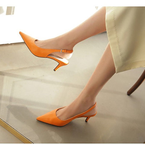 886c255110 Charming Elegant Multicolor Suede Women's Shoes Sexy High Heels Pumps &  Sandals Dress Party OL Pump