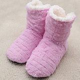 Superior Quality Cute Bow Home Slippers Style Print Plush Warm Winter Women Slippers Woman shoes