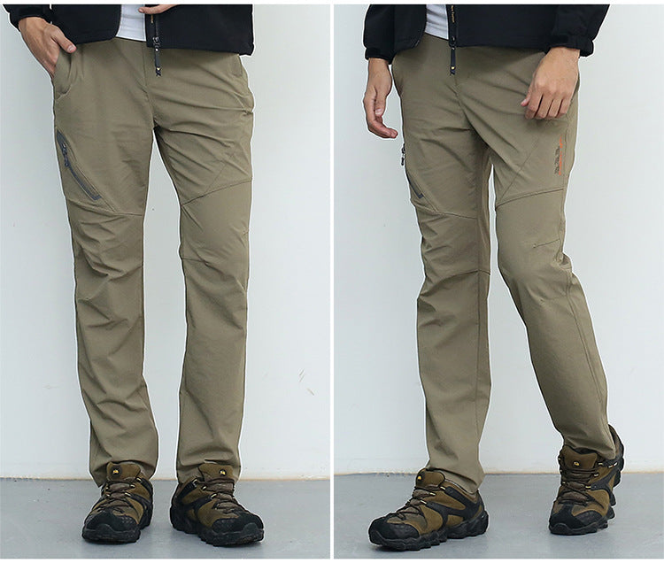 Stretch Multifunction Man Pants Men Spring/Summer Reflective Pants Men's Casual Trousers Male Slim Tactical Pants AM012