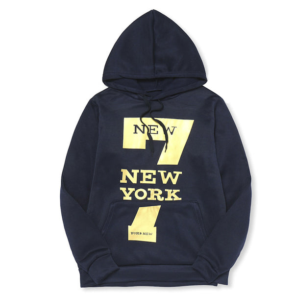 Hoodie 7 New York Printing Hoodies Men Fashion Tracksuit Male Sweatshirt Hoody Mens Purpose Tour Hoodie Black M-4XL