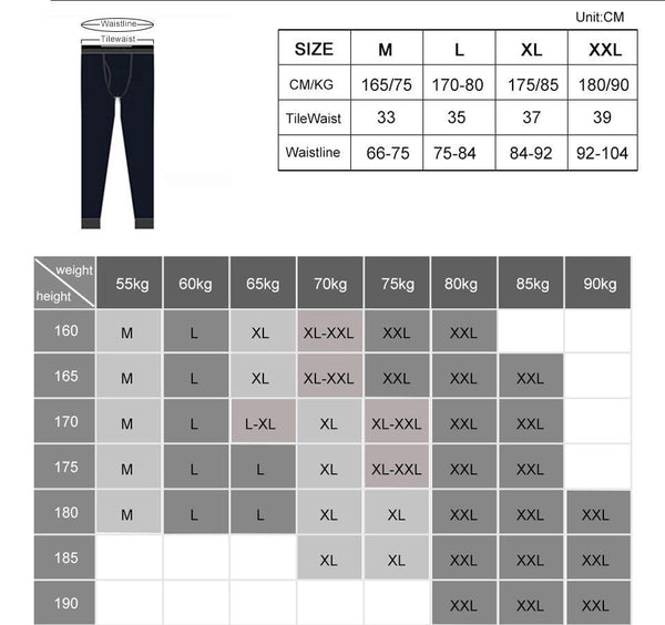 Underwear Winter Cotton Men Warm Thermal Underwear Men Long Johns Thermal Underwear Thick Plus Velvet Long Johns Sets
