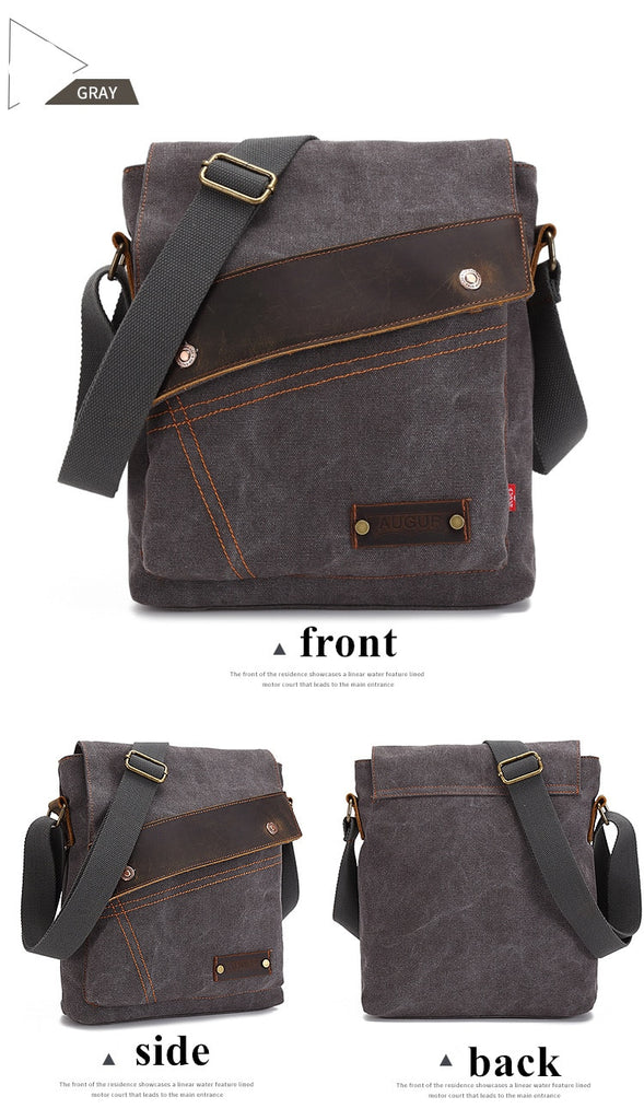 563ab8f038 ... Vintage male single Handbags men s messenger bag men Designer Handbag  Canvas Casual Messenger Bag Students school ...