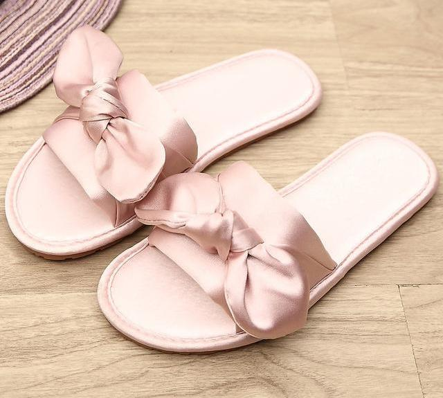 353d4640a New Summer Women Slippers Butterfly-knot Ladies Fashion Casual ...