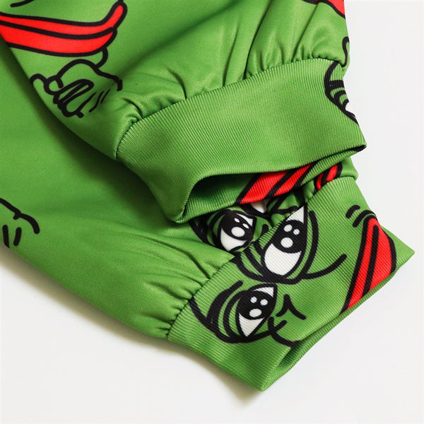3D Pepe The Frog Joggers Pants Men/Women Funny Cartoon Sweatpants 2018 New Trousers Jogger Pants Elastic Waist Pants Dropship