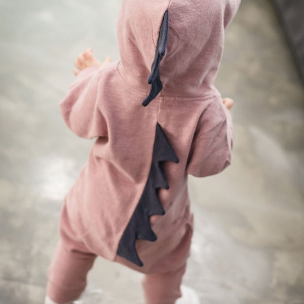 Newborn Baby Girls Boys  Romper Jumpsuit Clothes Funny dinosaur Infant Outfits Spring Autumn Baby Clothes