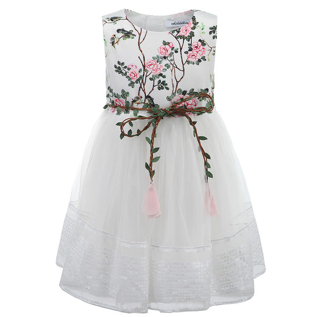 3-12Y Girls Lace Dress Princess Dress for Girls Clothes Baby Girls Dress Summer Kids Dresses Children Clothing