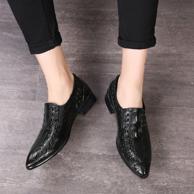 men summer shoes,PU Leather Hollow Breathable  shoes