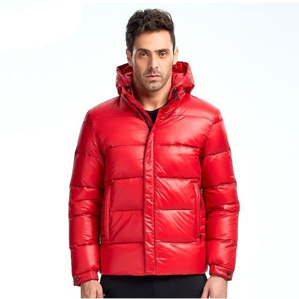 New Collection Men Down Jacket 70% White Duck Down Winter Down Coat Parka Thick Jacket European Size Free Shipping