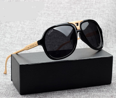 Carry POLARIZED Aviation Style Sunglasses Cool Brand Design Zinc Alloy Leg Sun Glasses Oculos De Sol