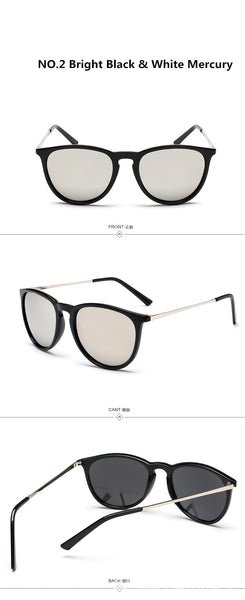 Retro Male Round Sunglasses Women Men Brand Designer Sun Glasses for Women Alloy Mirror Sunglasses Oculos De Sol