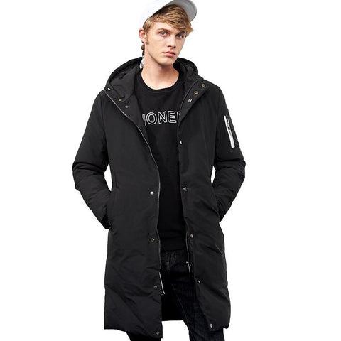 waterproof warm winter jacket men brand clothing long thick coat male quality hooded parkas men AMF705299