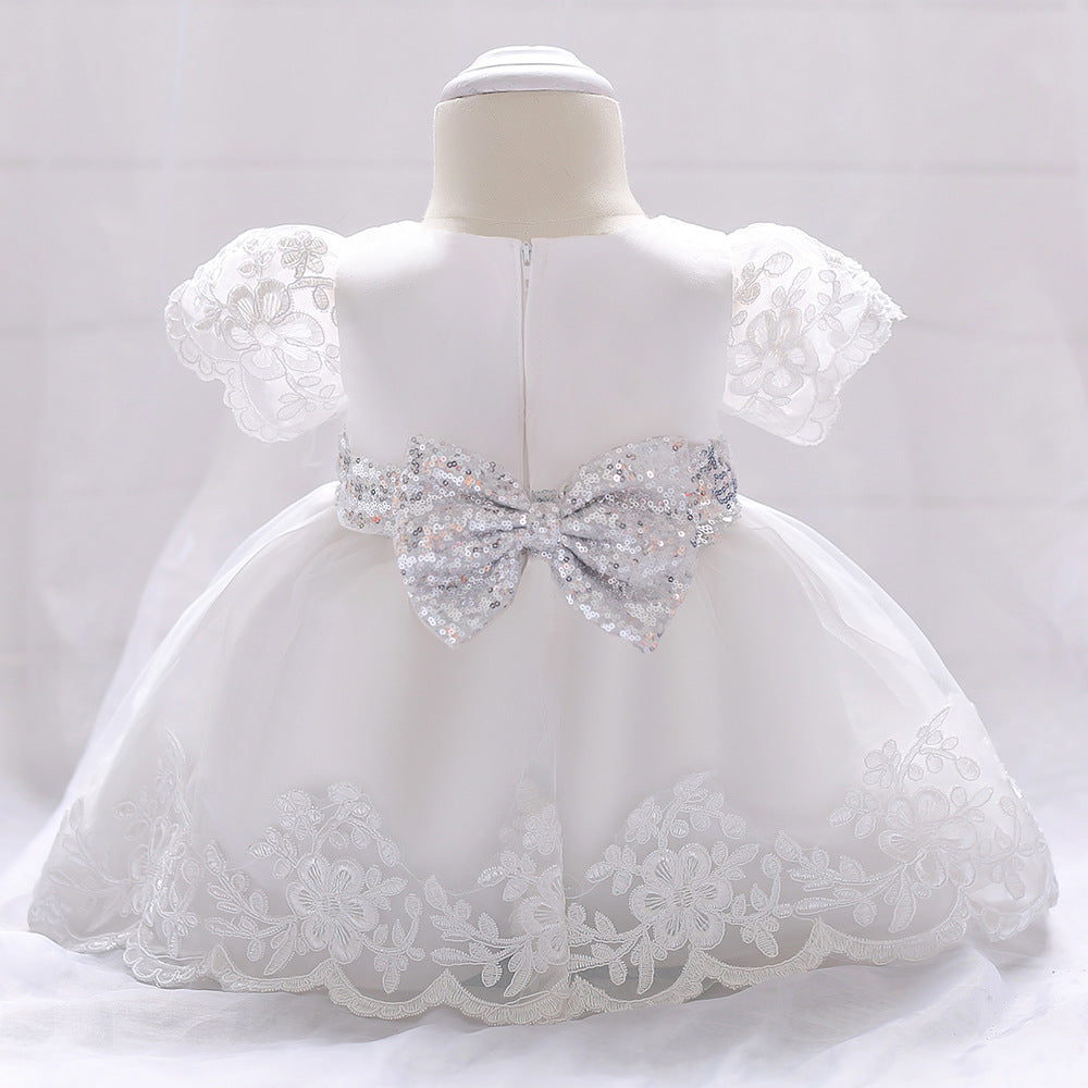Newborn Baby Girl Dress Lace White Baptism Dresses For Girls 1st Year Birthday Party Wedding Christening: Wedding Dresses For Baby Newborn At Reisefeber.org