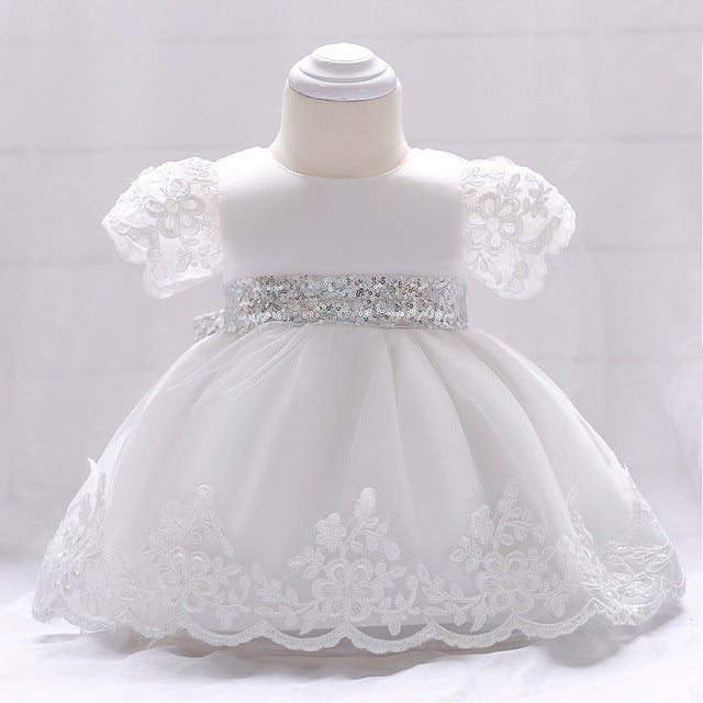 f933feac1c752 newborn Baby Girl Dress Lace white Baptism Dresses for Girls 1st year  birthday party wedding Christening baby infant clothing