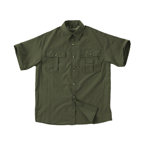 Long Sleeves Detachable Short Shirts mesh shirt khaki cargo quick dry safari pocket waterproof pilot uniform plain men tactical