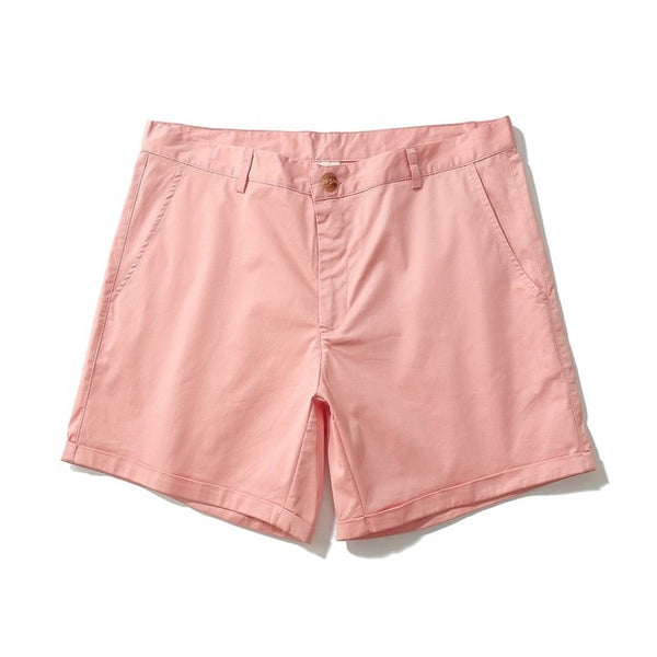 Men casual summer shorts pink white black Khaki four colors
