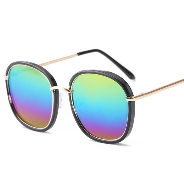 New Fashion Polygon Sunglasses Women Brand Designer Vintage Sun Glasses Clear Sun Glasses Men Sexy Couple Eyewear