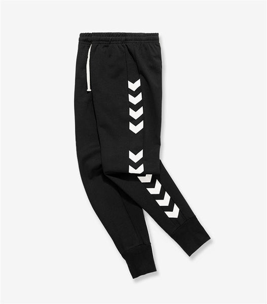 Patchwork Ribbon Pants Mens Casual Loose Joggers Trousers High Waist Sweatpants Streetwear Harem Beam Foot Pants