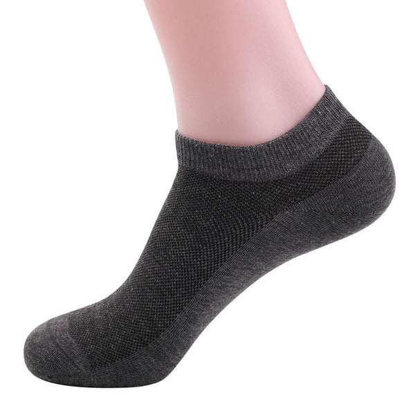 5pairs/lot Man's pure Cotton Fashion ankle Socks big size 10 low cut high quality men men's sox net