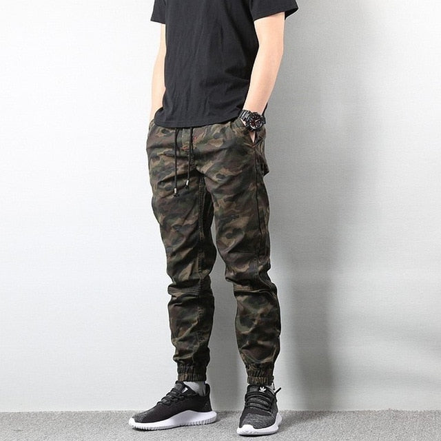 details for exquisite craftsmanship yet not vulgar American Street Style Fashion Men's Jeans Jogger Pants Camouflage Cargo  Pants Men Military Army Pants Homme Hip Hop Jeans