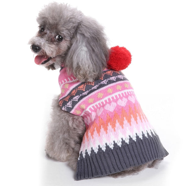 Dog Clothes For french bulldog Chihuahua Pug Warm Pet Winter Dog Knit Sweater Small Puppy Clothing Outfit Ropa Perro Dog Costume